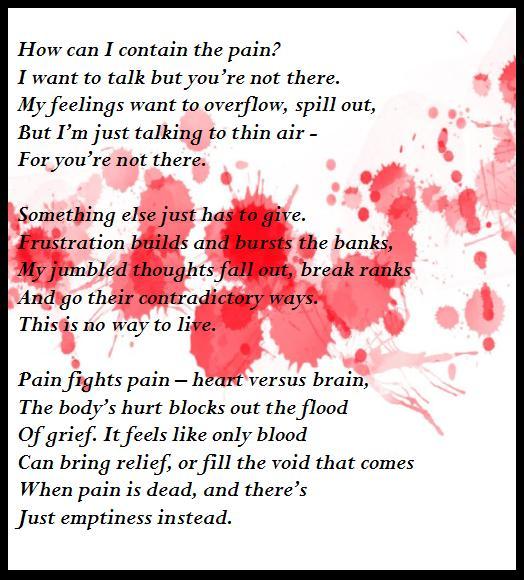 It feels like only blood FINAL