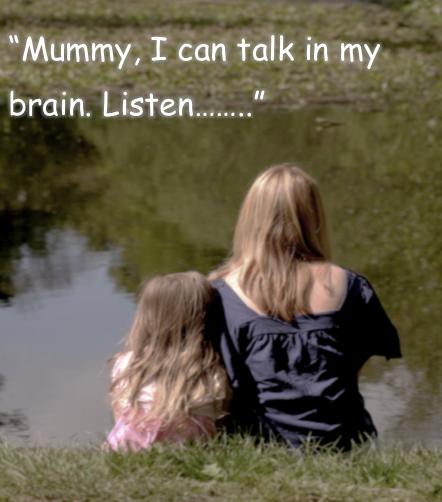 talking in my brain